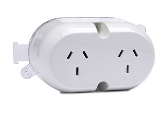 YOUU China Products You Can Electrical Double Surface Mount Socket,Plug Base