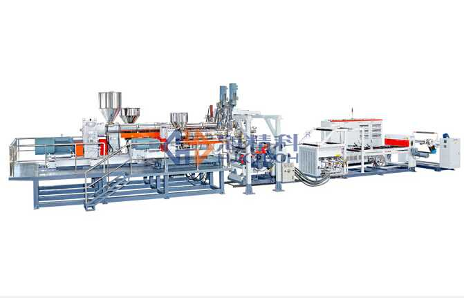 7 Layers Co-extrusion Sheet Machine