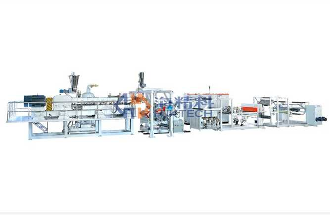 Sheet extruding machine--PET Twin-Screw Extruding Line