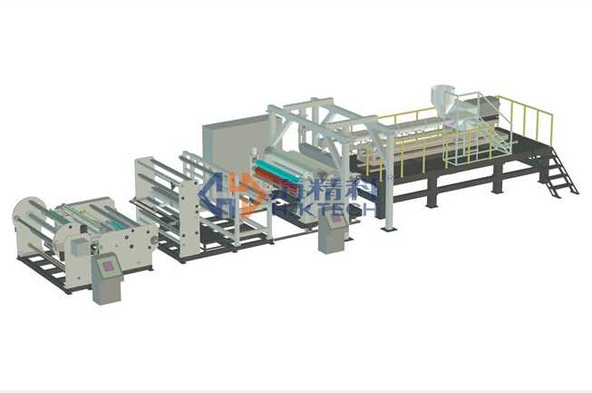 Eco-friendly EVA TPU And Hot-melt Film (for Laminated Glass) Extrusion Line