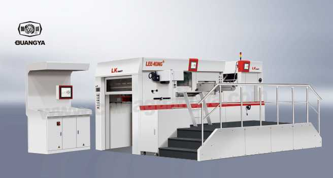 LK 106 MT Automatic Foil Stamping and Die Cutting Machine
