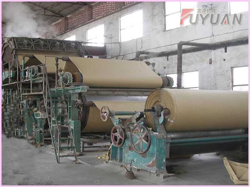 2 TPD Kraft Paper Making Machine