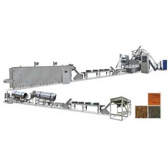 fish feed processing line fish feed pellet production line
