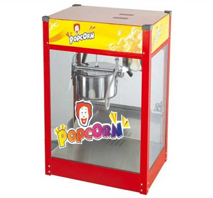 Luxury popcorn machine, commercial popcorn vending machine