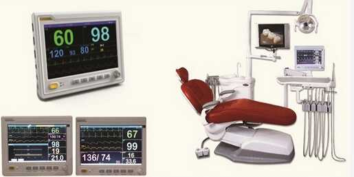 MAKII Multi-Parameter Dental Monitor 10In