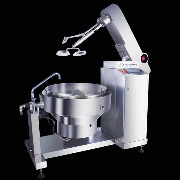 Fully Automatic Dishes cooker (gas)