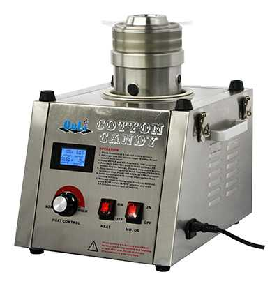Digital stainless steel cotton candy machine ON-CC2S