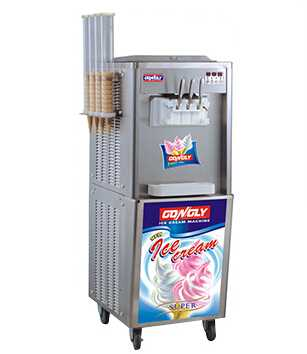 BQL-S22-2 Commercial soft serve ice cream machine manufacturer for yogurt