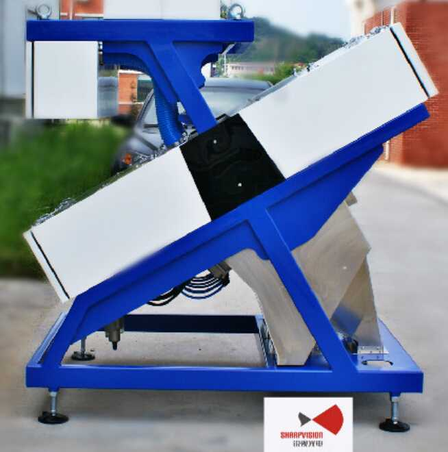 High precision CCD cereal color sorter for rice mill;Food processing machinery