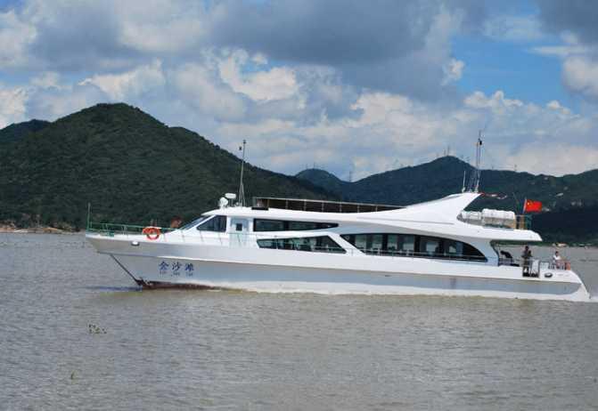 27m 20kn Catamaran passenger boat - Equipmentimes com