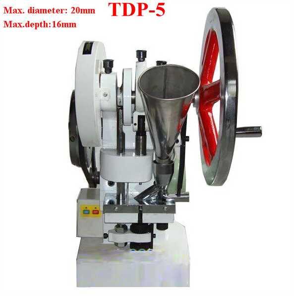 tdp5, Tablet Making Machine, Single Punch Die Tablet Press