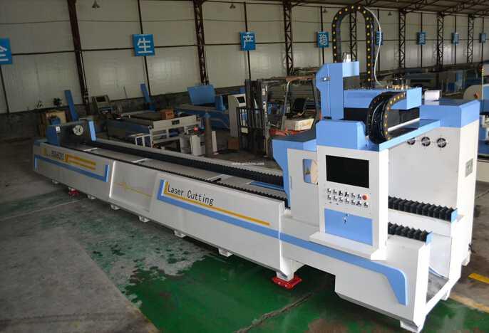 Fiber laser cutting machine for metal pipe-1200W