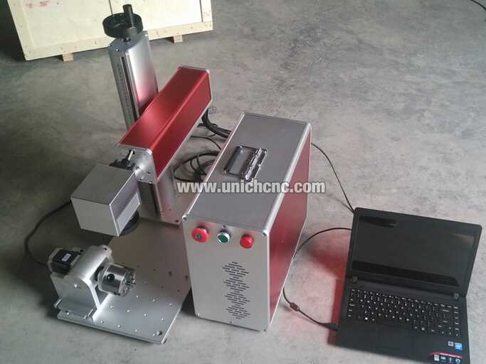 portable Fiber laser marking machine Fiber-10W