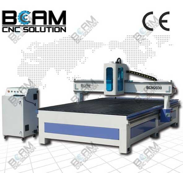 New style cnc router with spindle shield