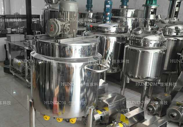 Stainless steel electric heating syrup mixing tank