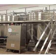 Stainless steel milk processing dairy beverage processing machinery yogurt manufacture machine