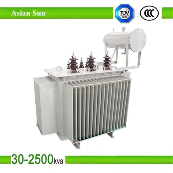 S11 Series 1000kva oil-immersed electric power distribution transformer