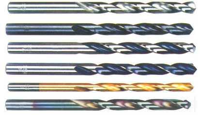 HSS Twist Drill Bits, DIN338, Fully Ground.