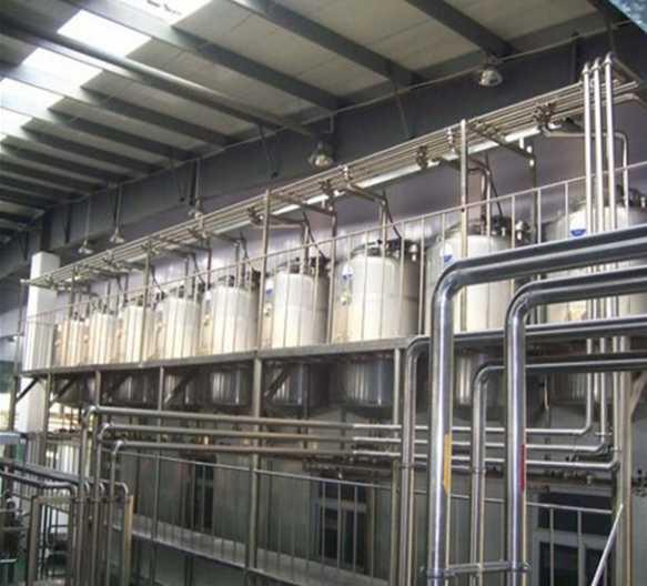 Линия по производству соевого молока