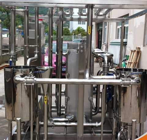 Food Sanitary Stainless Steel Uht Pasteurization Machine