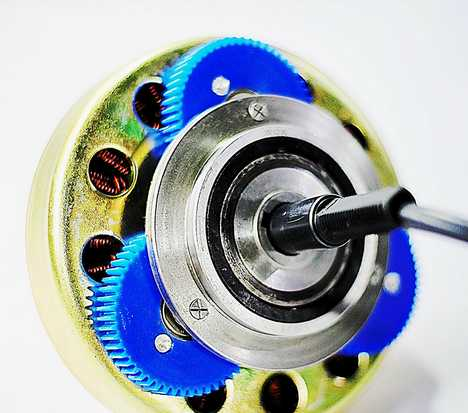 250W Brushless DC Hub Motor (53621HR-170-CD)