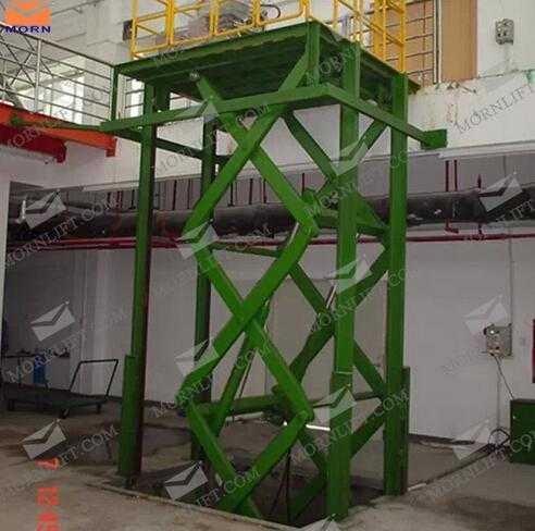 SSL2-3 5 Series Rust-Proof 2 Ton Stationary Hydraulic Scissor Lift