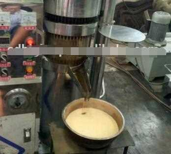 CE approved cocoa butter hydraulic oil press machine/olive