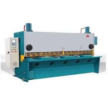 Instock Hydraulic guillotine shearing machine 8*8ft, stainless steel CNC guillotine cutting machine