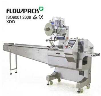 Automatic Cake Bread Packing Wrapper Pillow Bag Flow Food Packaging Equipment Horizontal Filling And Sealing Machine