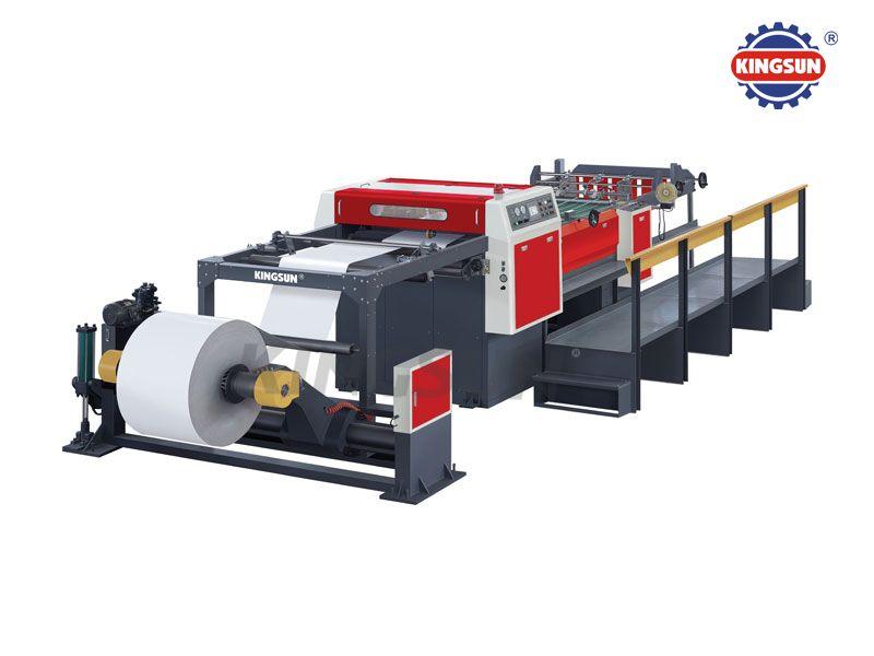KS-A Series Servo control high speed rotary paper sheeters