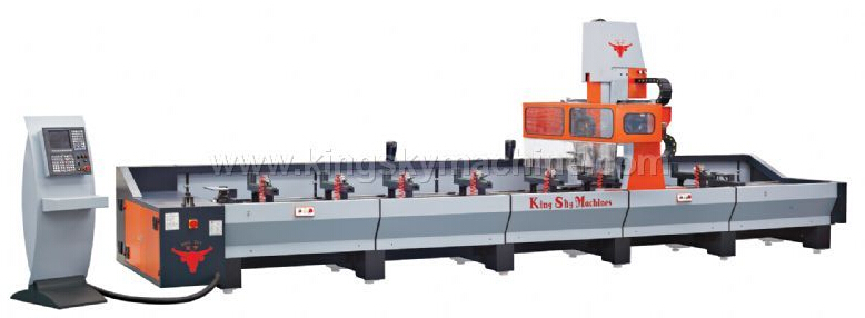 KS-TS45506-CNC Aluminum Curtain Wall Profile Machining Center