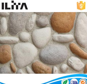 artificial stone, river stone, fake rock siding