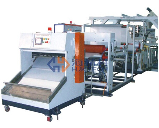 Low-Foaming PP Sheet (For Folder) 3 Layers Co-Extrusion Line