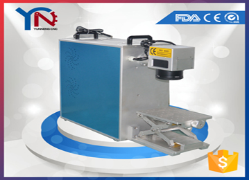Fiber marking machine