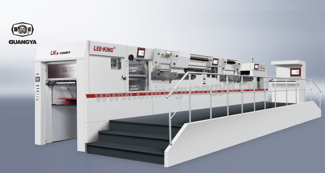 LK 2-106 MT Automatic Foil Stamping and Die Cutting Machine with Stripping in One Step