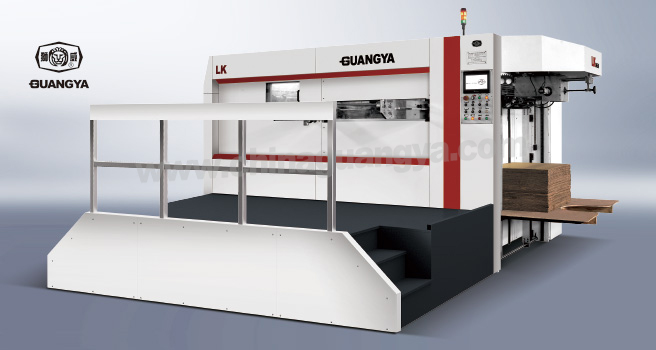 LK 1450 Manual-Auto Integrated Automatic Die Cutting Machine