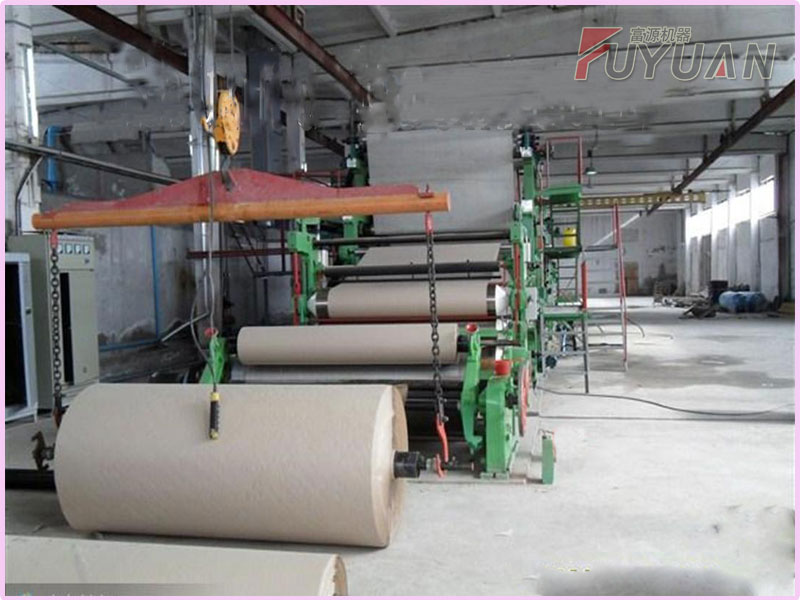 5 TPD corrugated paper making machine
