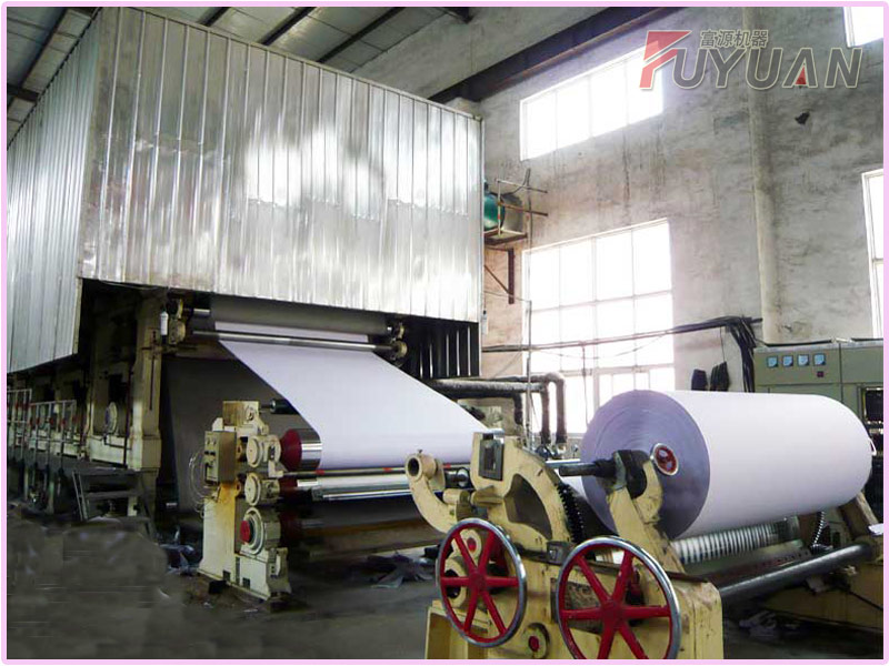 1092 mm culture paper making machine