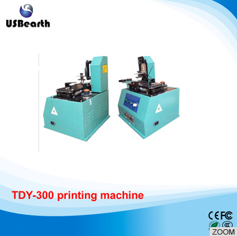 TDY-300 Environmental Desktop Electric Pad Printer, round pad printing machine, ink printer
