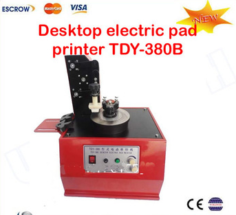 2015 Newest Desktop electric pad printer TDY-380B,pad printers