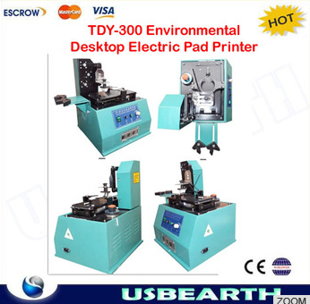 2015 NEW Environmental Desktop Electric Pad Printer,move ink printing machine TDY-300