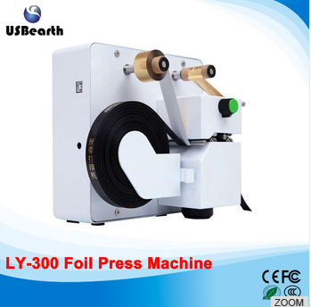 LY 300 foil press machine digital hot foil stamping printer machine
