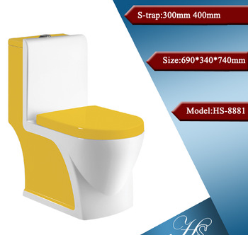 HS-8043 high quality toilet american standard wash basin,china wc,hotel toilet