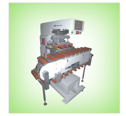 Plastic Bottle 4 color pad tampo printing machine