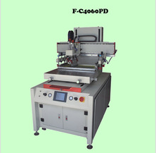 Digital Semi-automatic movable worktable pcb silk screen printing machine