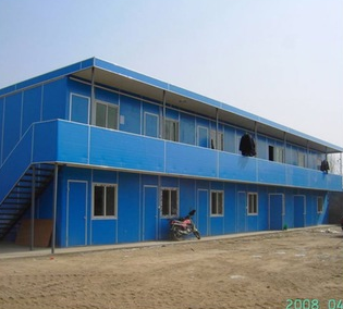Cost Effective Contemporary Color Prefab Houses Light Gauge Steel Houses
