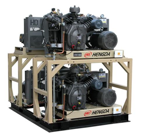 Medium and High pressure piston compressor