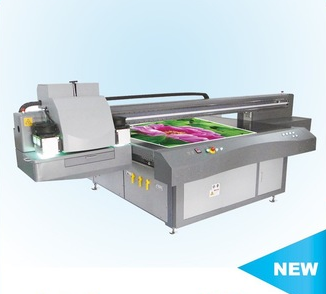 High resolution large format 1325 UV flatbed printer