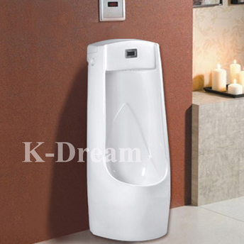 WC sanitary wares man urinal ceramic floor urinal with sensor