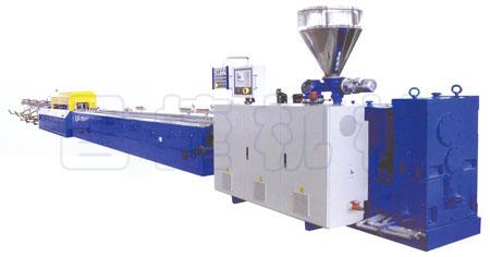 PVC Plastic Extruding Profile Production Line